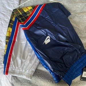 NIKE Plaid Windbreaker Pants